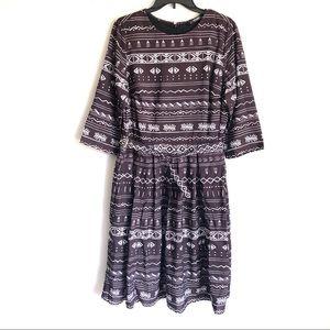 eshakti Dresses - Eshakti Southwest Print Dress